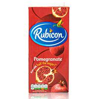 Rubicon - Premium Granatapfelsaft 1 Liter - Pomegranate Granatapfel Saft Drink
