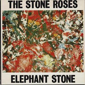 THE STONE ROSES Elephant Stone Vinyl Record Single 7 Inch Silvertone 1990 Indie