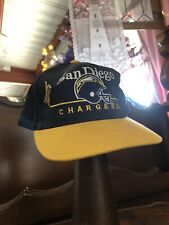 Vintage San Diego Chargers Hat and Pin ⚡️🏈 NFL Memorabilia Trucker Cap Football