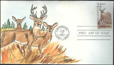 #2317 White-tailed Deer Fox FDC (05619872317001)