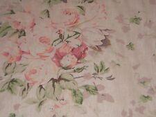 "Laura Ashley ""Florabunda"" floral by the yard color tearose"