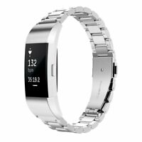 For Fitbit Charge 2 Fitness Watch, Simpeak Stainless Steel Replacement band, US