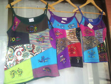 100% All Cotton Nepalese Singlet Tops