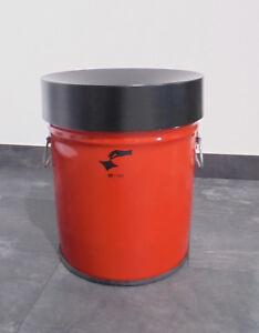 Abfallbehälter 30 Liter, mit Griffen, Sicherheitsabfallbehälter, Mülleimer