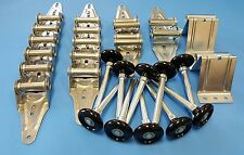 Garage Door Hardware Kit -Standard Duty -16x7 or 18x7- Rollers, Hinges, Brackets