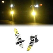 Amarillo Xenon H1 100w bombillas para adaptarse a Bmw Serie 3 Modelos