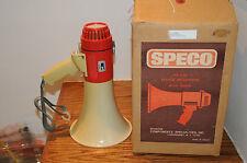 SPECO ER370 DELUXE MEGAPHONE WITH SIREN 16 WATT SPEAKER GAME SPEAKER PHONE WORKS