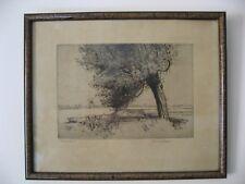 Réginald Green (1884-1971) - Eau forte - Gravure - Tableau -
