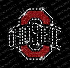 Ohio State Buckeyes Football - Bling - Iron-on Rhinestone Transfer
