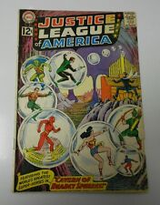JUSTICE LEAGUE OF AMERICA #16 VG- Wonder Woman Green Lantern