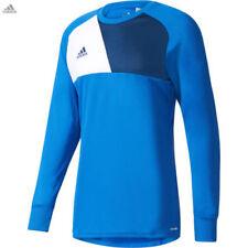 Camiseta de fútbol azul porteros