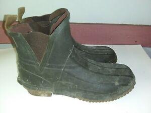 Cabelas Mens Rain Boots Size 10