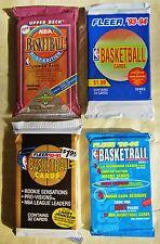 100 + Basketball Cards 4  Packs CLOSEOUT 1991 - 96 Fleer Upper Deck Jordan ? ?