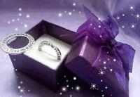2 x Twins Keepsake Rings / Charms Twin Mum  Christening Christmas Gift Baby