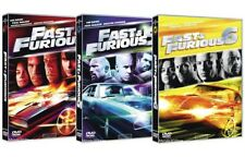 FAST AND FURIOUS 4, 5, 6 (3 DVD) con Vin Diesel, Paul Walker, Dwayne Johnson
