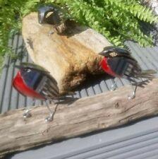 More details for cutlery bird - robin handmade stainless steel sculpture art