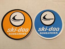 Nos Vintage 2 - Decals /stickers Ski Doo Bombardier Snowmobiles Winter Sled