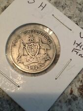 1915 H AUSTRALIAN SHILLING...KEY DATE AND MINT..... You Judge Condition... #0846