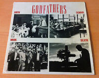 "GODFATHERS   ""Birth School Work Death "" - Vinyl Lp Autografiado  - 1988 Spain"