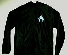 * Aquaman Dc * New Logo Film Release Exclusive Hooded Jacket L Jason Momoa
