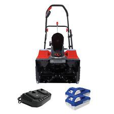 Snow Joe 48-Volt Cordless Snow Blower | 18-Inch | 2 x 4.0-Ah Batteries & Charger