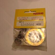 Conjunto de piezas de EMBRAGUE KYOSHO Nitro bruta nuevo en paquete NB9 Vintage
