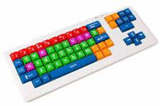 Colourful USB Children / Special Needs / Home School / Keyboard For PC & laptops