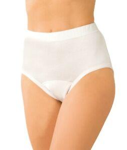 Inkontinenzslips Damen 4er Pack für leichte Blasenschwäche