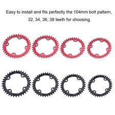 Lightweight BCD 104mm Bike Chainring Narrow Wide Chain ring 32/34/36/38T New SD