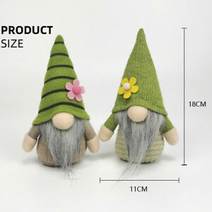 Easter Tomte Plush Doll Scandinavian  Gnome Elf Ornament Holiday Spring Home  SU