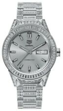 TAG HEUER CONNECTED MODULAR 45 WATCH FULL DIAMOND 45mm MOST EXPENSIVE SMARTWATCH