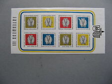 GERMANY DDR, non-postal imperforated S/S INTERMESS III