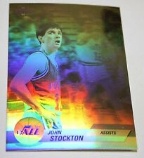 John Stockton 1992-93 Upper Deck Hologram Assists Basketball Card BV$$
