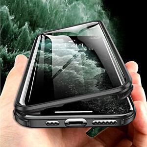 COVER per Iphone 11 / Pro Max BORDI SILICONE TPU 360° DOPPIO VETRO TEMPERATO 9H
