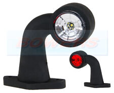 LED RED WHITE SIDE END MARKER LIGHT LAMP IFOR WILLIAMS INDESPENSION TRAILERS