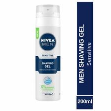 Nivea For Men Sensitive Shaving Gel 200ml formula with Chamomile & Vitamin Care