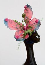 Butterfly Wings Flower Rose Fascinator Races Wedding Bridal Hat Headband