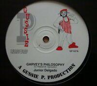 "JUNIOR DELGADO / DADDY FREDDY - Garvey's Philosophy / Goldfinger - 12"" -  REGGAE"
