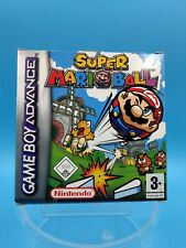 jeu video nintendo gameboy advance complet PAL NEU6 super mario ball