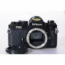 Nikon FE2 Spiegelreflexkamera in Black / Nikon FW 2 Camera / Body / SLR Kamera