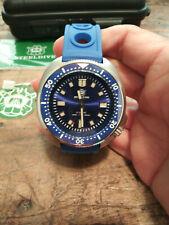 New Blue Steeldive SD1970 Seiko NH35 Captain Willard Men's 200M Divers Watch