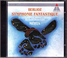 Zubin MEHTA: BERLIOZ Symphonie Fantastique Le carnaval romain Beatrice LPO CD