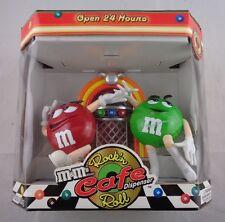 M&M's Rockin Roll Cafe Jukebox Dispenser~~Mint Condition - NIB w/M&Ms