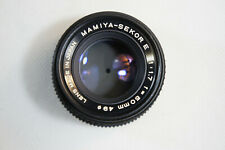 Mamiya-SEKOR E 50MM F1.7 LENS for 35mm ZE mount SLR, Free 2-3 Day Shipping
