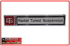 RTS Nameplate Badge for VB/ VC Commodore (Stick on Type)