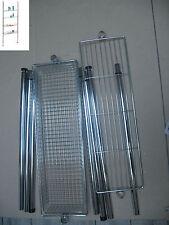 WENKO  Étagère métal télescopique cuisine WC salle bain