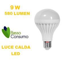 LAMPADINA LED GLOBO ATTACCO E27 LUCE CALDA 9W 580 LUMEN CLASSE A+ VALEX 1155195