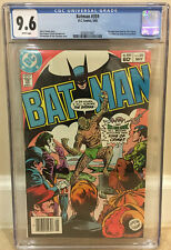 BATMAN #359 CGC 9.6 NEWSSTAND 1ST KILLER CROC COVER & DAN JURGENS COMIC WORK