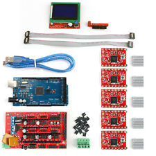 3D Printer RAMPS 1.4+ Mega2560+A4988+12864 LCD Controller For  Reprap T3