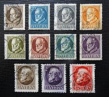 Bayern 94-106 II , König Ludwig III , Gestempelt , Qualitätsgrad II